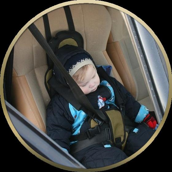 Детское удерживающее устройство, бескаркасное кресло ДАК